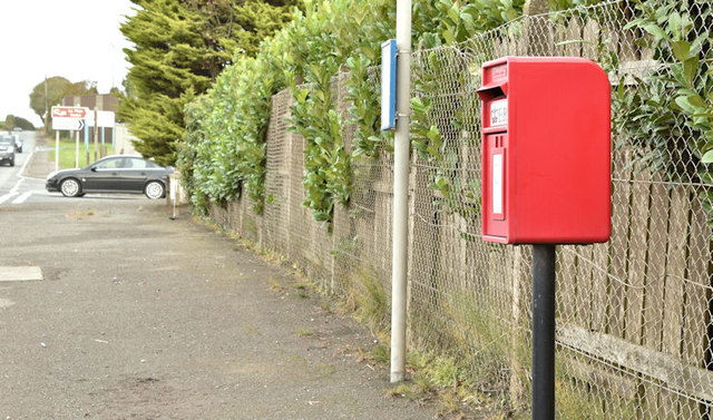 Postbox BT23 407, Crossnacreevey (October 2017)