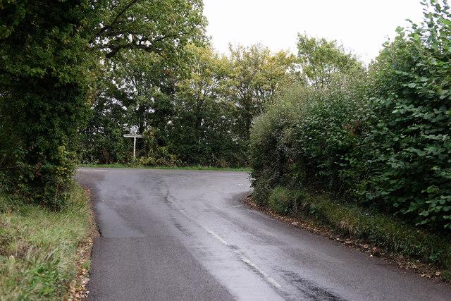 Approaching West Chiltington Lane