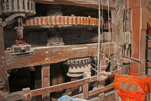 Little Salkeld Mill - hurst frame