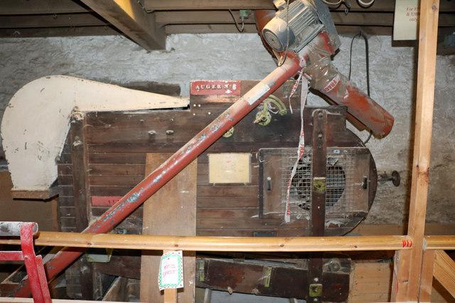 Little Salkeld Mill - disused winnower