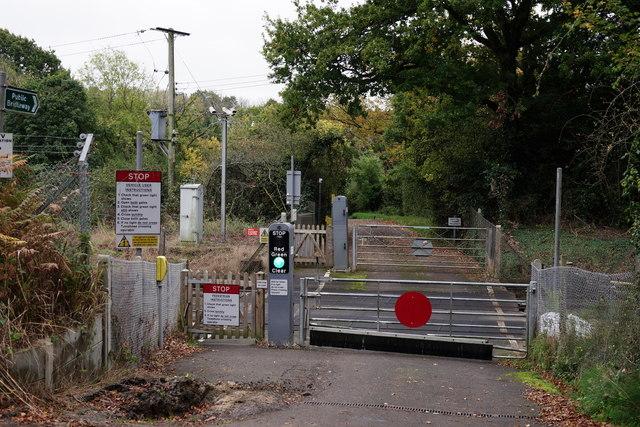 Level Crossing at Barns Green