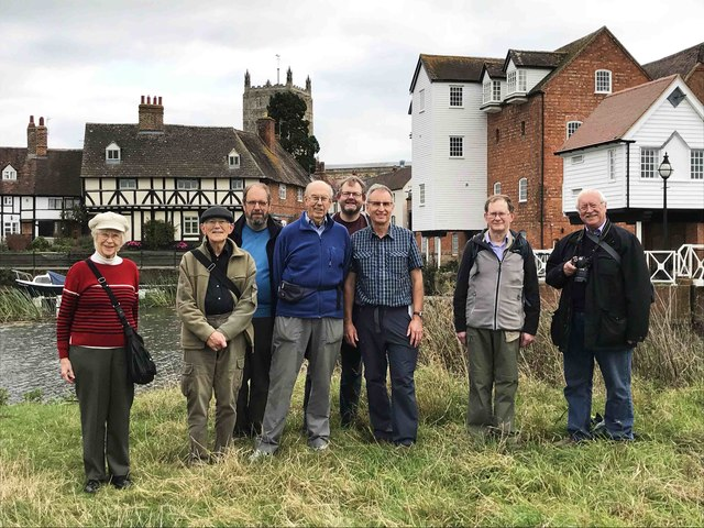 Meetup of Geographers at Tewkesbury, Glos