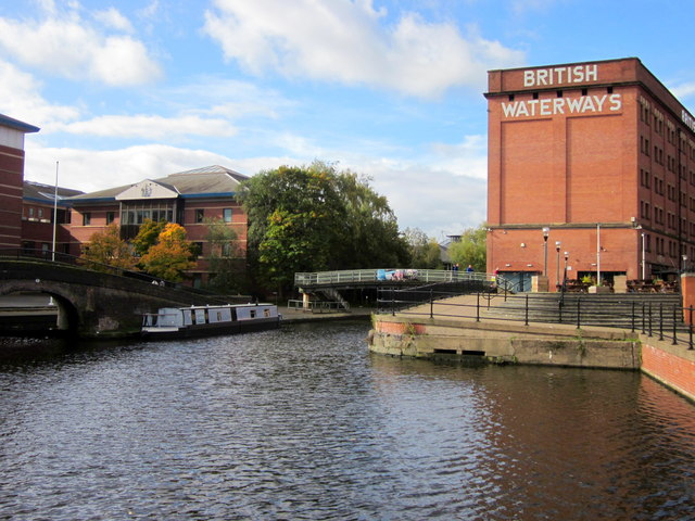 Converted British Waterways Building Canalside Nottingham