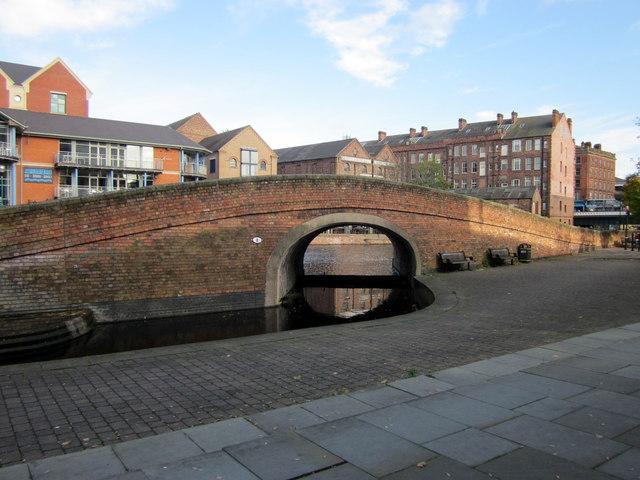 Canal Bridge Nottingham
