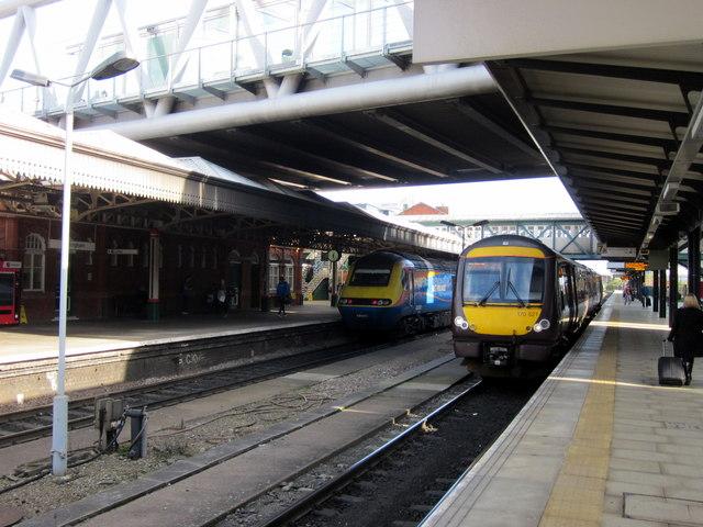 Nottingham Station Platforms