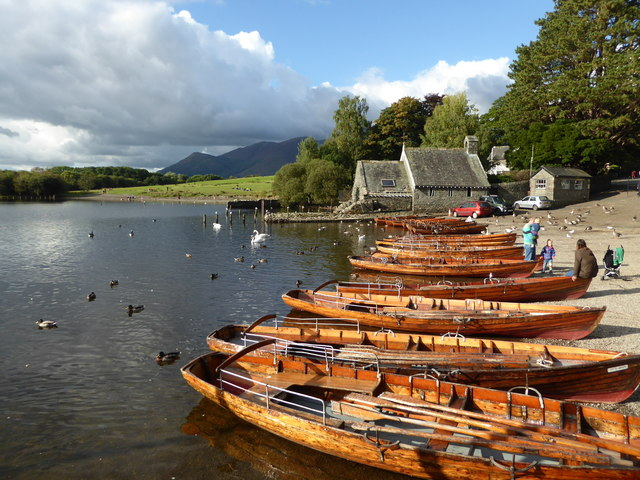 Rowing boats - Derwent Water