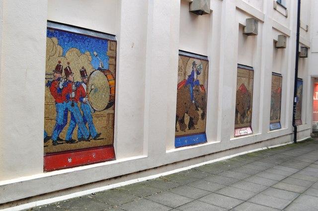 The Cheltenham Elephant Invasion Mosaics revisited