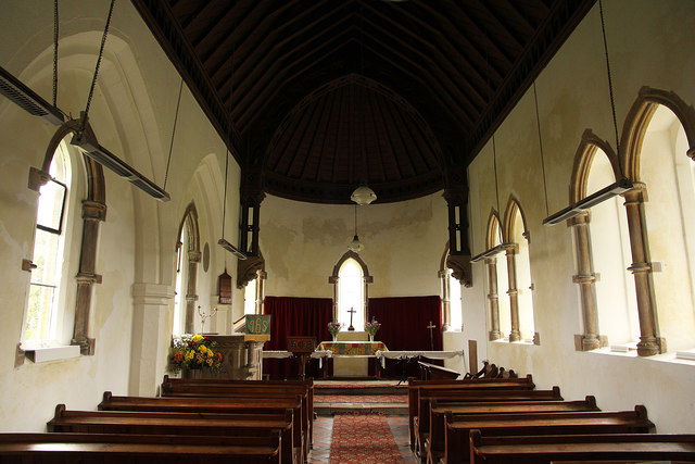 All Saints' church interior