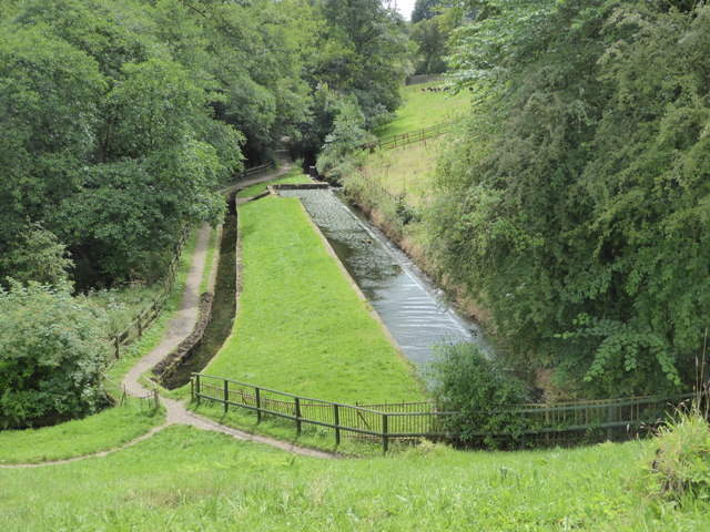 Canal feeder channel from Rudyard Lake