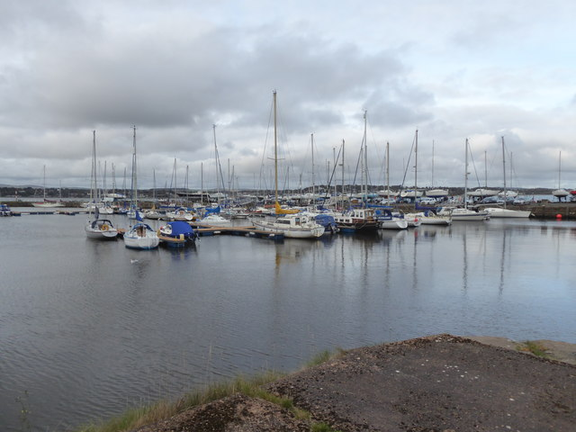 Marina berths, Tayport New Harbour