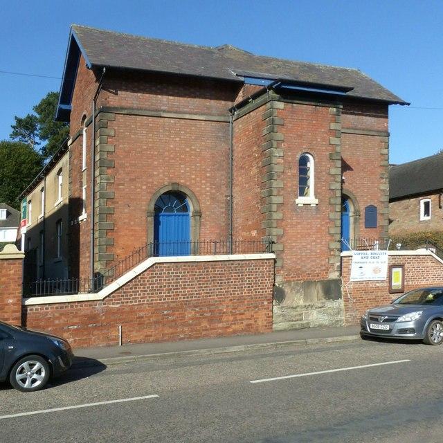 Ebenezer Congregational Church, Tutbury