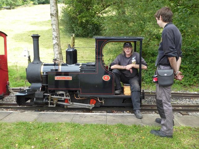 Rudyard and Leek Railway - taking a breather