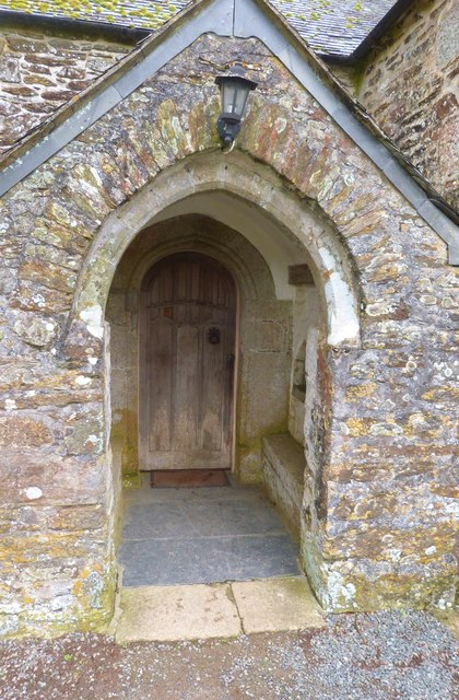 South Door,  St. Anthony's church at St. Anthony-in-Meneage