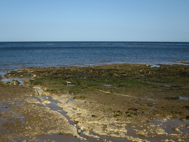 Very low tide at Sheringham