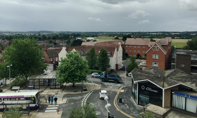 Bus Station, Market Street and beyond, Warwick