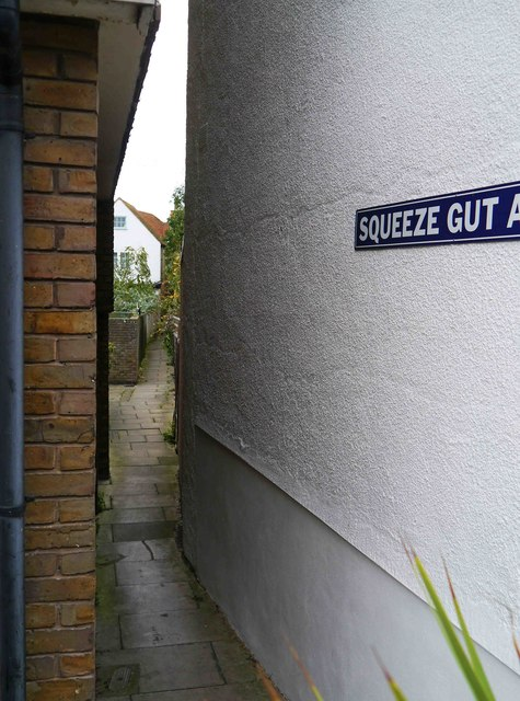 Squeeze Gut Alley, Whitstable, Kent