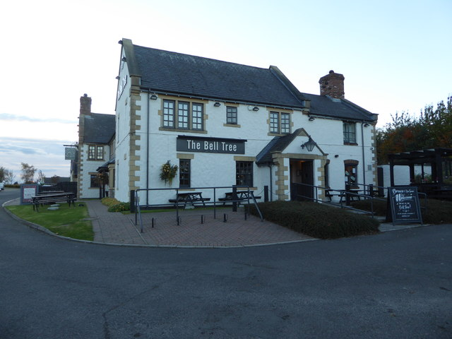 The Bell Tree public house near Broughty Ferry