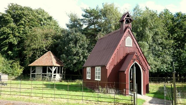 Tin chapel, Chiltern Open Air Museum