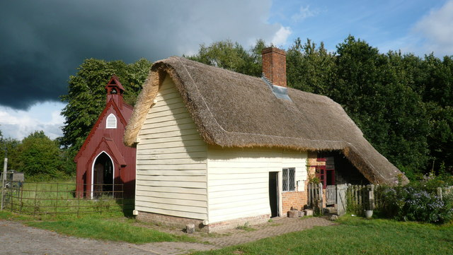 Leagrave Cottages, Chiltern Open Air Museum