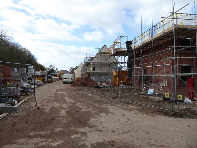 Hatton Grange building site