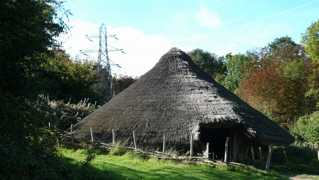Iron Age Roundhouse, Chiltern Open Air Museum