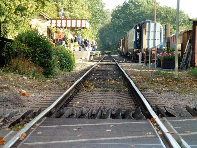 The Nene Valley Railway at Overton Station