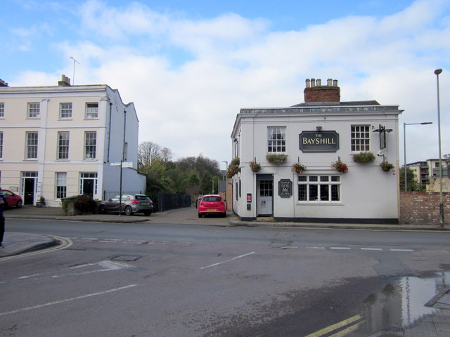 St George's Place Cheltenham Spa Bayhill Pub.