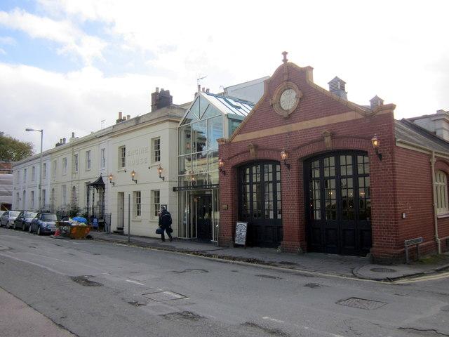 Cheltenham Spa St James' Square Old Fire Station