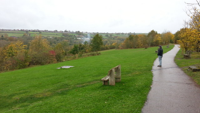 Severn Valley Country Park on a wet day