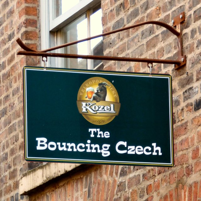 The Sign of the Bouncing Czech