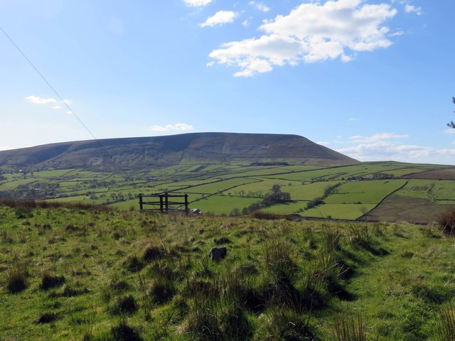 Pendle Hill from Aitken Wood