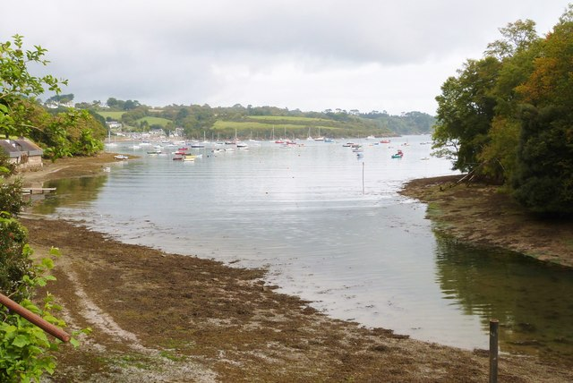 The Helford River from Helford village