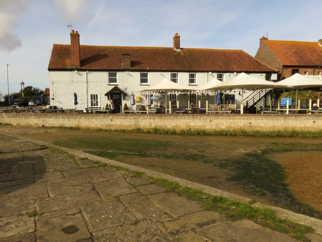 The Ship Inn by Langstone Quay