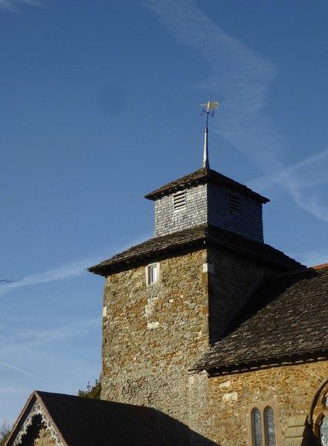 St John's church, Wotton: the tower