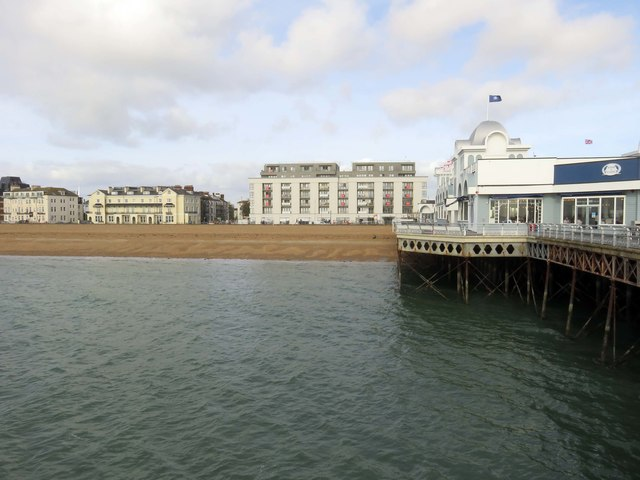 South Parade Pier in Southsea