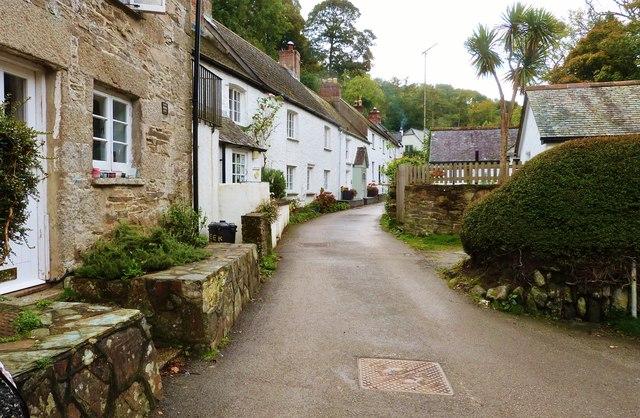 Helford village, Cornwall