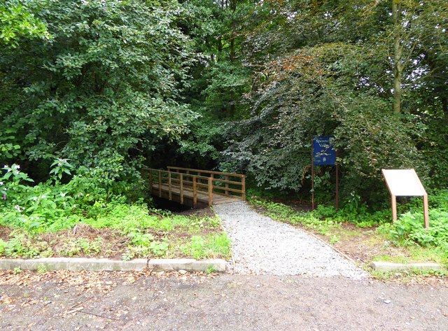 Entrance into Spennells Valley Nature Reserve, Kidderminster