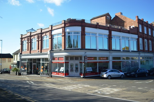 Shops on corner of Radford Road and King's Road