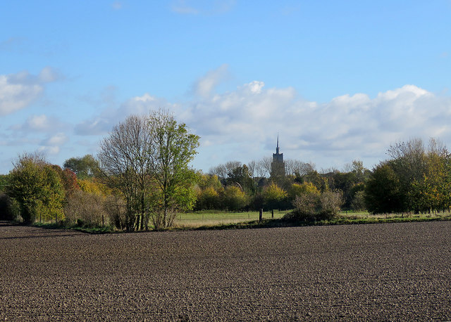 Across the fields to Ashwell