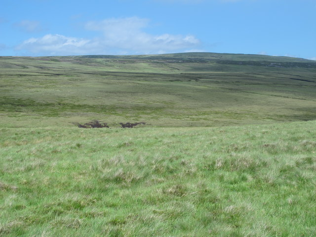 The valley of Maize Beck below Stony Mea