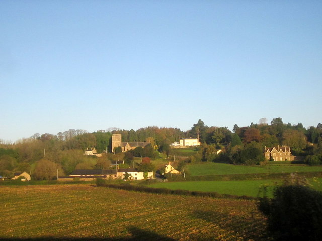 Tidenham Village With Church of St Mary & t Peter
