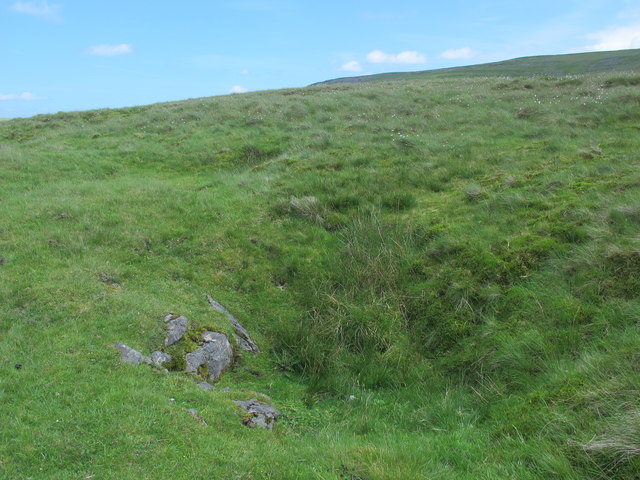 Shake hole below Murton Herds