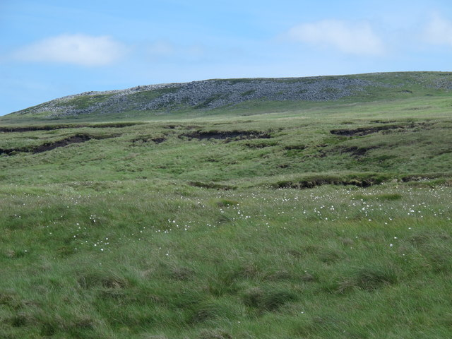 Moorland and rock outcrop south of Maize Beck