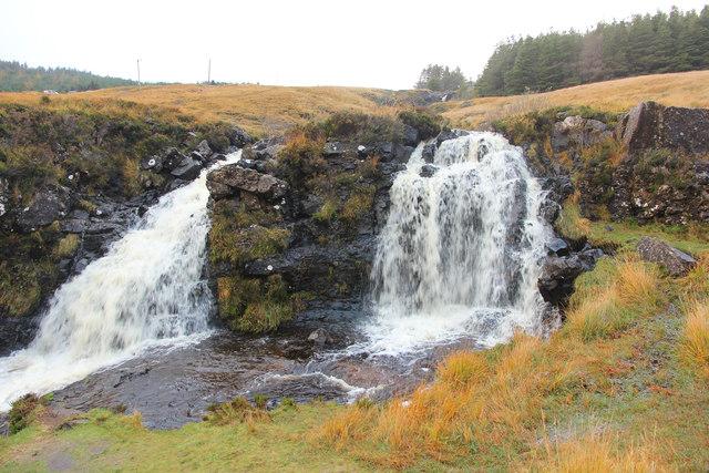 Glen Brittle waterfalls