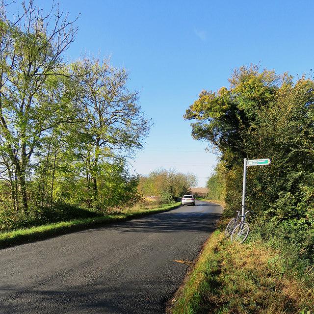 On Newnham Road