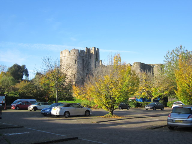 Chepstow Castle Car Park