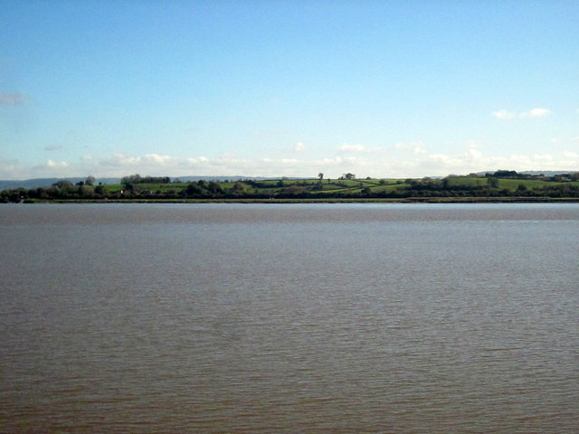River Severn Alongside Gatcombe