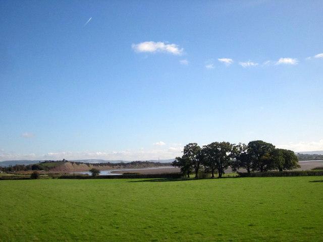 Fields Alongside River Severn