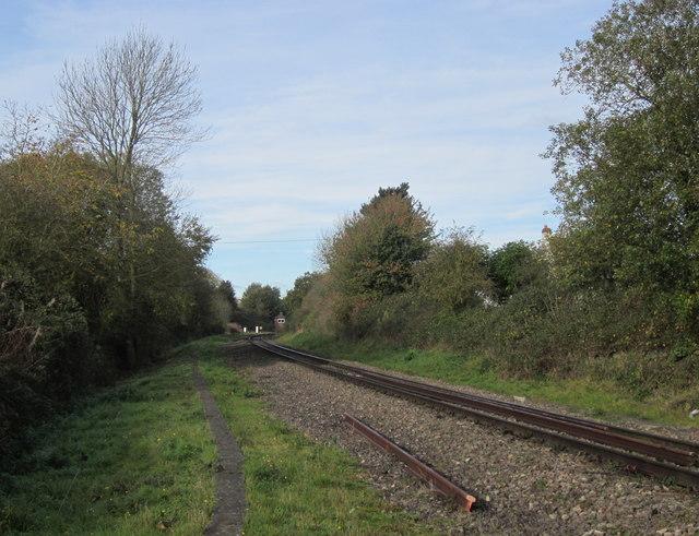 Norton Junction Looking Towards Worcester