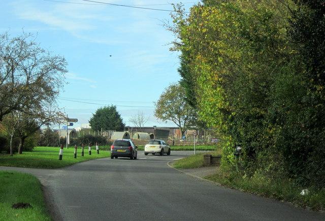 Norton Woodbury Lane Junction With Church Lane